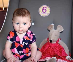 Ellie turned 6 months!