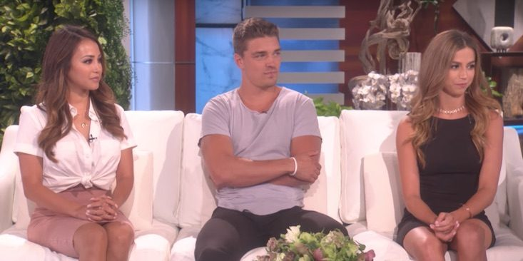 Love Triangle on The Ellen Show